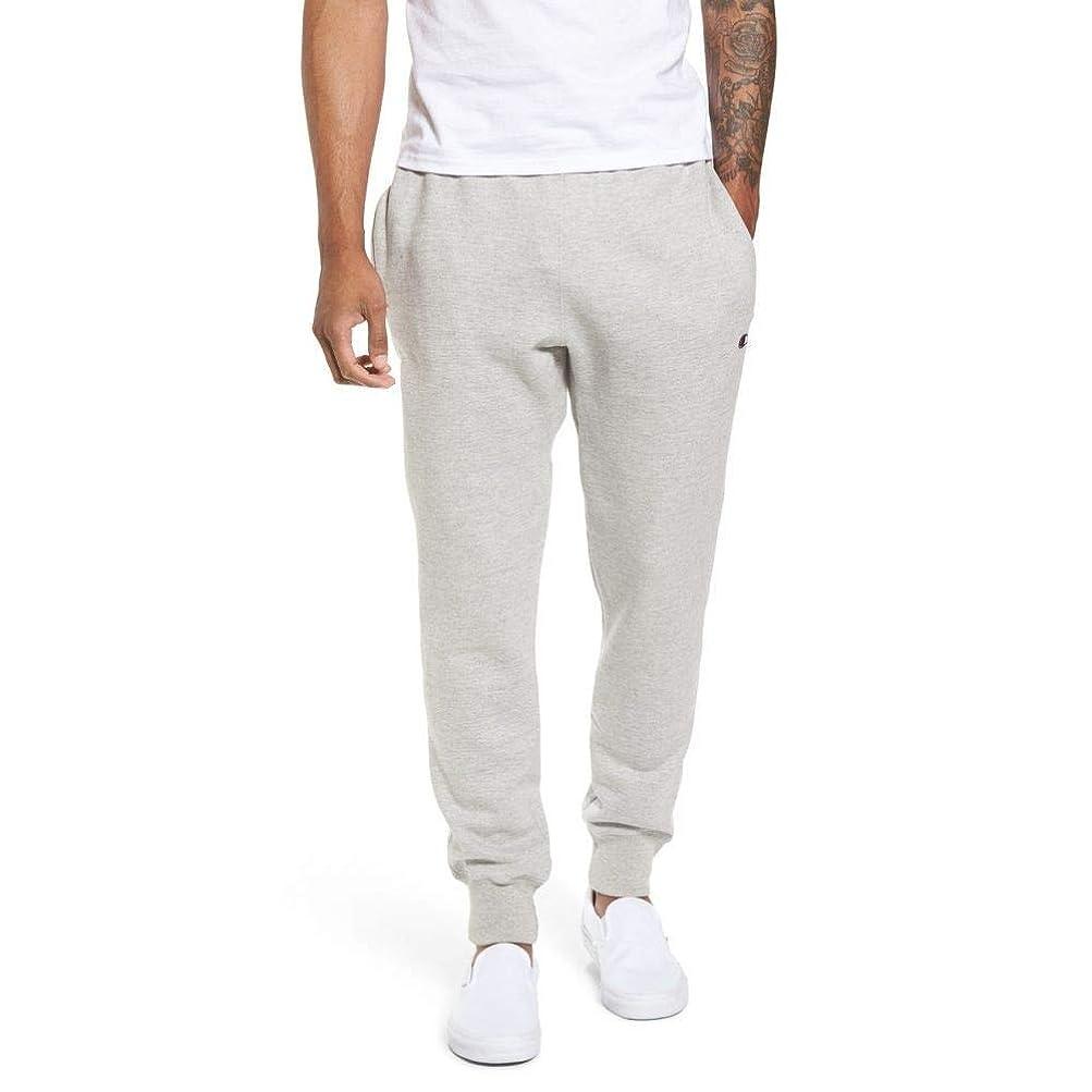ヒロイン有名なナサニエル区CHAMPION (チャンピオン) メンズ ボトムス?パンツ ジョガーパンツ Reverse Weave Jogger Pants Oxford Grey サイズL [並行輸入品]