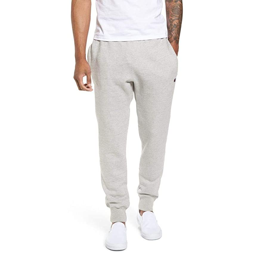 うまくやる()スチュワード逆CHAMPION (チャンピオン) メンズ ボトムス?パンツ ジョガーパンツ Reverse Weave Jogger Pants Oxford Grey サイズL [並行輸入品]
