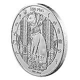 Egyptian Mythology Cat Goddess Bastet Coin Silver Plated Commemorative Coin,Souvenir Coins Collectible Coins