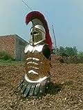 NauticalMart Armor Halloween Costume Wearable Muscle Armor with Corinthian Helmet Golden