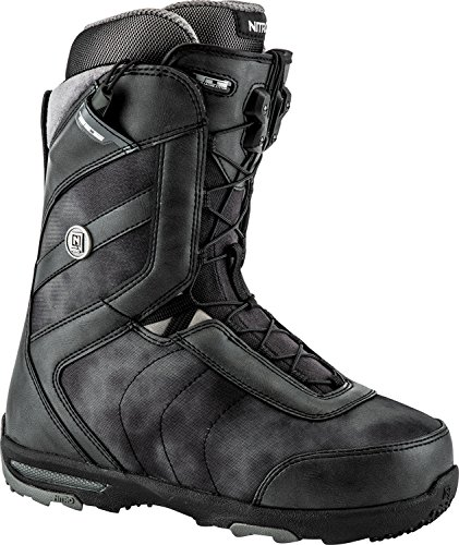 Nitro Snowboards Damen Monarch TLS'18 Snowboard Boot, Black, 25,5