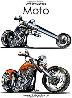 Livre de coloriage Moto 1