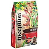 Inception Dry Dog Food Pork Recipe – Complete and Balanced Dog Food – Meat First Legume Free Dry Dog Food – 13.5 lb. Bag