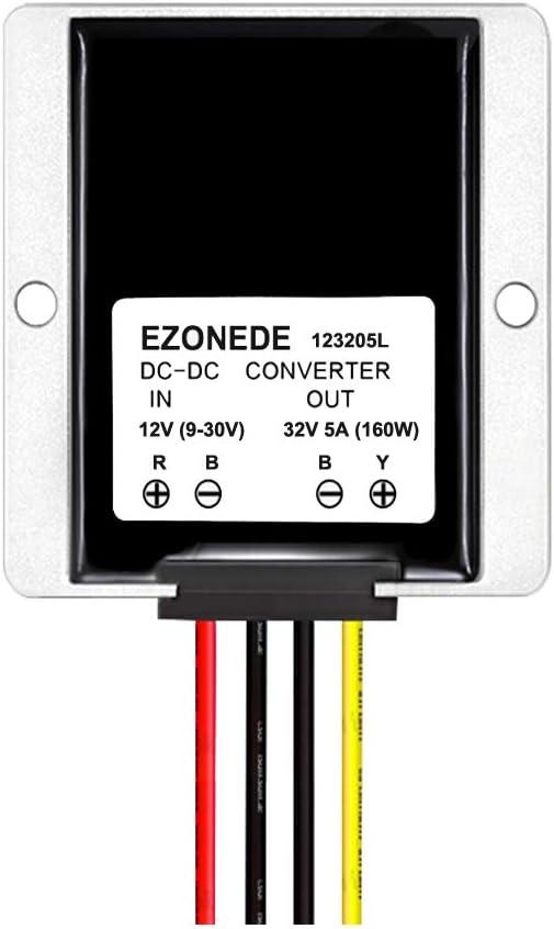 Stayhome 1PCS 12V to 32V 5A 160W DC to DC Step up Boost Converter Stabilizer Voltage Regulator Power Supply Transformer for LED Driver