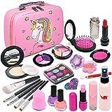 Enjoybot Kids Washable Makeup Toy Girls - 2021 Newest Unicorn Real Cosmetic Kit for Little Girls ,...