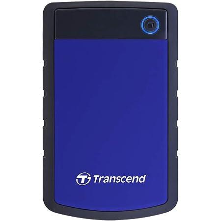 Transcend 4TB USB 3.1 Gen 1 StoreJet 25H3B SJ25H3B Rugged External Hard Drive TS4TSJ25H3B, Blue