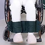 Reposapiés para silla de ruedas Cinturón de seguridad Correa de sujeción Reposapiés Arnés para silla Soporte para silla de ruedas para adultos Cinturón de seguridad para ancianos Restricciones médicas