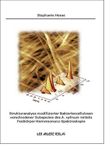 Strukturanalyse modifizierter Bakteriencellulosen verschiedener Subspezies des A. xylinum mittels Festkörper-Kernresonanz-Spektroskopie