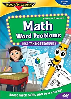 Math Word Problems by Rock 'N Learn