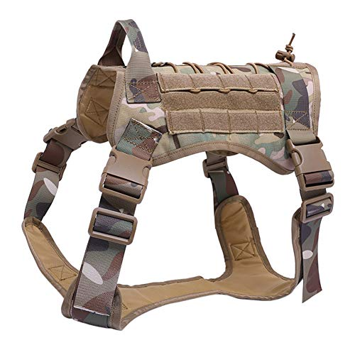 Wildlead Tactical Training Dog Harness Vest Militar