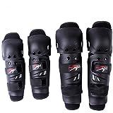 Wooya Motos Deportes Carreras Protector Rodilla Codo Kits De