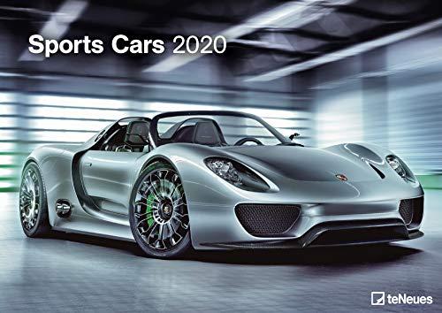 Sports Cars 2020 - Wandkalender - 42x29,7cm - Motorkalender - PS-Kalender - Fotokalender - Sportkalender
