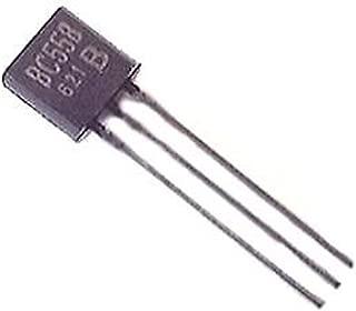 BC558B BC558 PNP Transistor TO-92 30V 100ma General Purpose Transistors (Pack of 50)