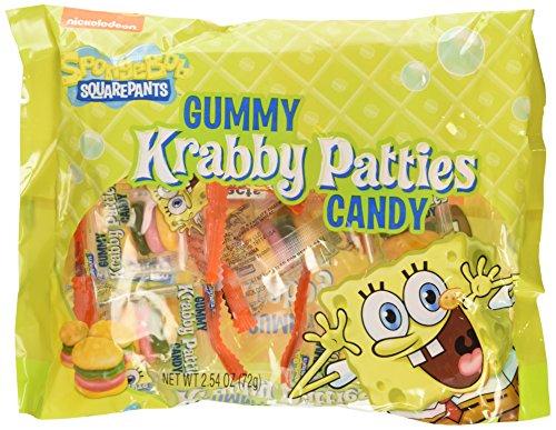 Nickelodeon Spongebob Squarepants Gummy Krabby Patties Candy
