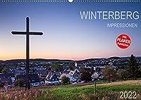 Winterberg Impressionen (Wandkalender 2022 DIN A2 quer): Eine Kleinstadt im Hochsauerland (Geburtstagskalender, 14 Seiten )