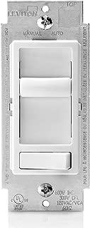 Leviton 66EV-10W 300W SureSlide Electronic Low Voltage (ELV) Dimmer, White