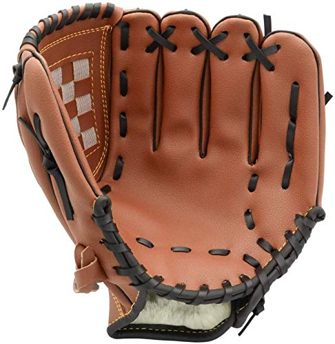 Kids Youth Baseball Glove for Left Hand Premium Leather Softball Glove Sports Batting Gloves Pitcher Catchers Mitts for Boys Girls 115 inch One Piece