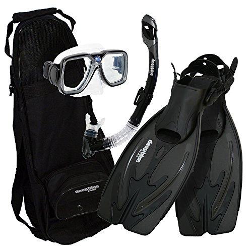 Deep Blue Gear - Adult Diving Snorkel Set