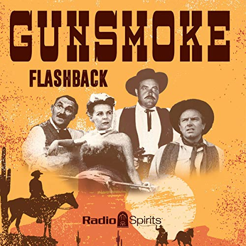 Gunsmoke: Flashback audiobook cover art
