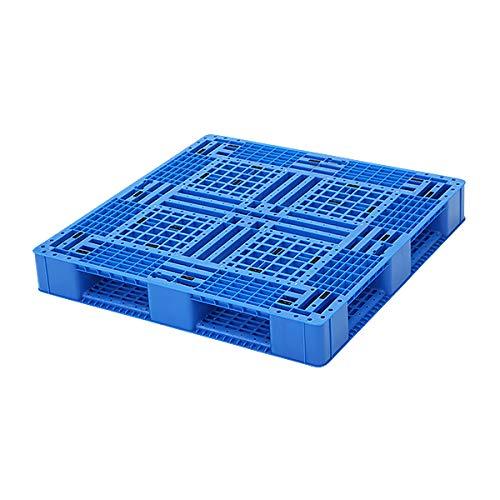 プラスチックパレット ハイグレードモデル バージン原料 1枚 約W1100×D1100×H150mm 最大荷重約6000kg 約6t フォークリフト ハンドリフト 片面四方差し 四方差し 樹脂パレット 捨てパレ パレット 軽量 プラパレ 樹脂 片面使用 輸