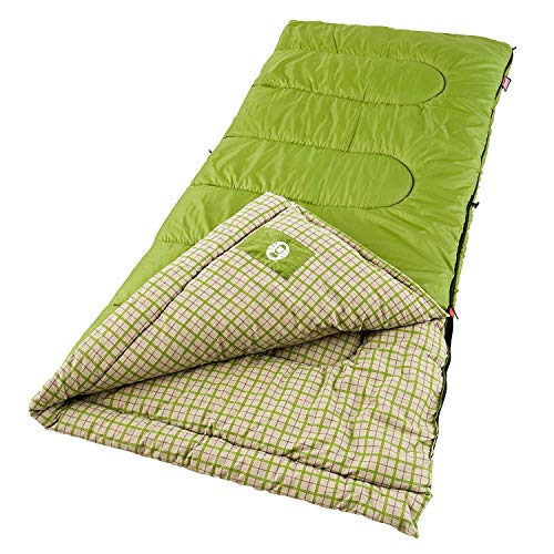 Coleman Rectangular Flannel Sleeping Bag 40...