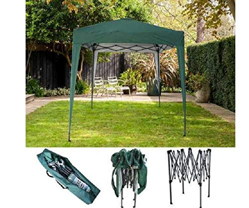 Pop up Gazebo 2x2 Green Waterproof Outdoor Garden Patio Picnic Canopy Shelter Party Tent with Carry Bag Camping