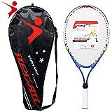 Lixada REGAIL 1 Unids Sólo Bastidor de Aleación de Aluminio de Raqueta de Tenis para Adolescentes con Alambre de Nylon Firme Entrenamiento de Tenis Chindren
