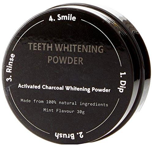 BINKBANGBANGDA Geactiveerde houtskool tanden bleken poeder