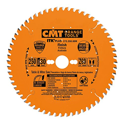 CMT ORANGE TOOLS 272.250.60M Sierra circular (ultra itk) 250x1.7x30 z 60