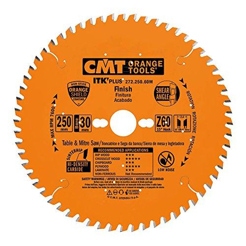 CMT ORANGE TOOLS 272.250.60M Sierra Circular (Ultra itk) 250x1.7x30 z 60