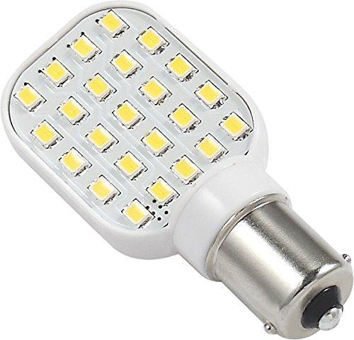 Gold Stars 11568305 LED Replacement Bulb 1156 Base 250 LUM 12 or 24v Natural White (1)