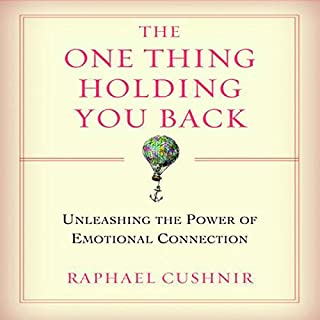 The One Thing Holding You Back audiobook cover art