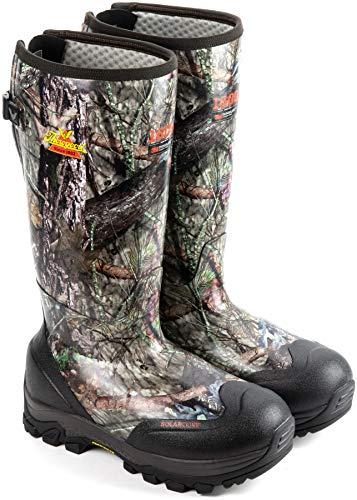 "Thorogood Men's 867-0116 Infinity FD 17"" Waterproof 1600g Rubber Work Boot, Mossy Oak Break-Up Country - 12 M US"