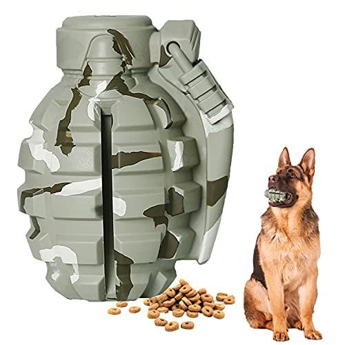 SUNNEKO Premium Hundespielzeug Unzerstörbar aus Naturkautschuk – sehr Robuster Kauspielzeug Hunde nahezu Unkaputtbar – Intelligenzspielzeug für Kleine Mittelgroße und Große Hunde,Camouflage/Tarnfarbe
