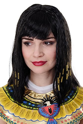 WIG ME UP - PW0185-P103 Karneval Cleopatra Kleopatra Hollywood Diva Halloween