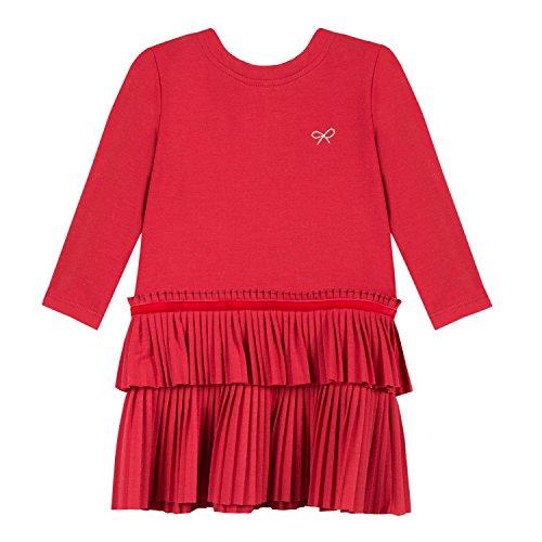 Lili Gaufrette Liseli Vestido, Rojo (Vermillon 361), 1 año (Talla del Fabricante: 1A) para Bebés