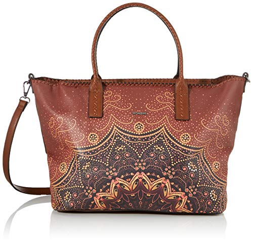 Desigual Tekila Sunrise Holbox Shoulder Bag Cognac