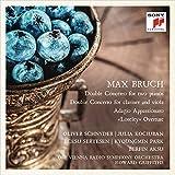 """Bruch: Double Concerto for two Pianos/Double Concerto for Clarinet & Viola/Adagio Appassionato/""""Loreley"""" Overture - Oliver Schnyder"""