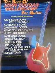 The Best of John Cougar Mellencamp for Guitar: Includes Super TAB Notation by Mellencamp, John Cougar (1983) Sheet music