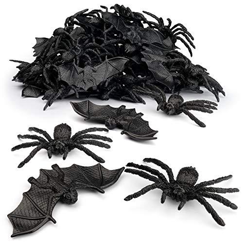 Halloween Spiders Bats Party Favor Decorations