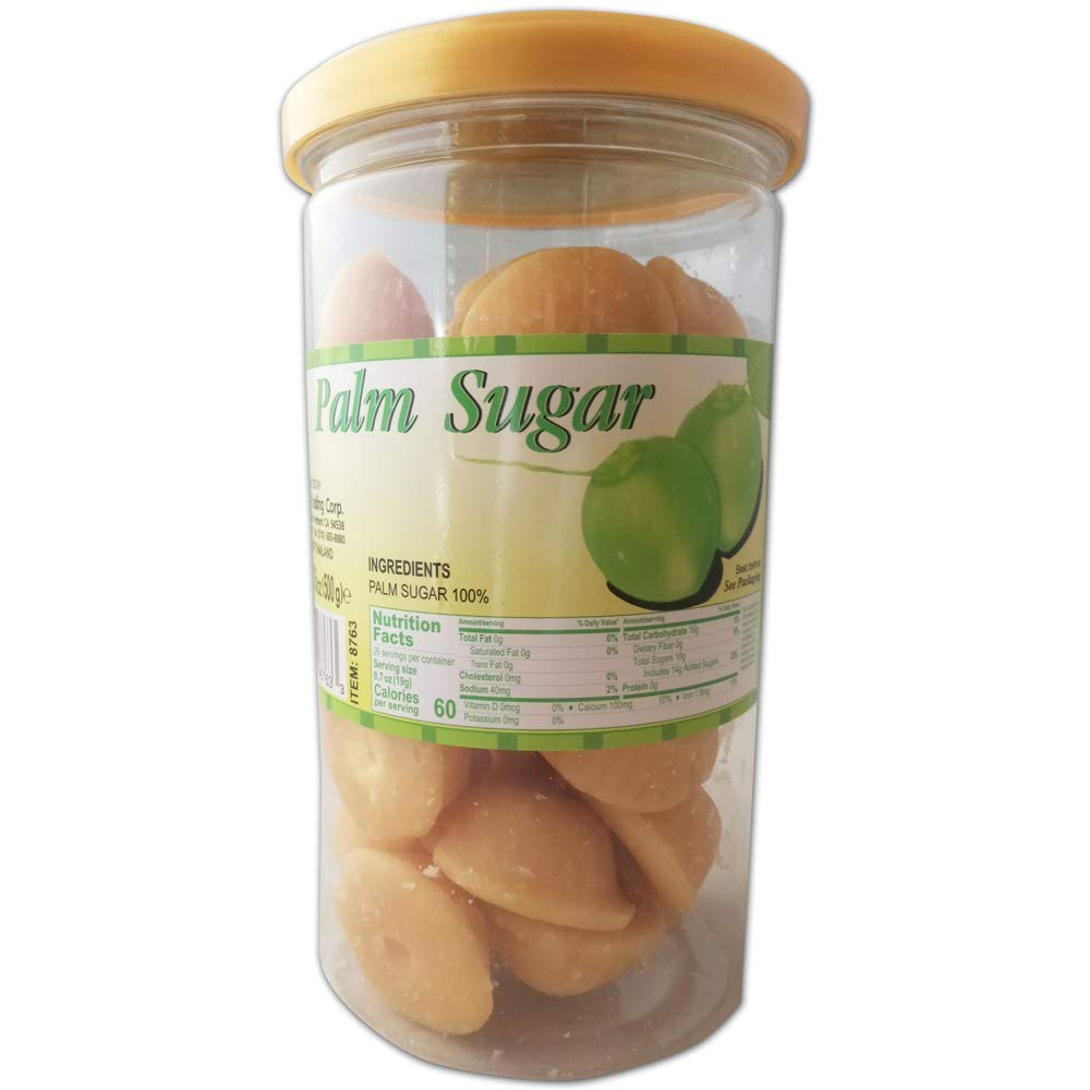 New product Palm Sugar Dua Duong Pieces oz 17.06 Small shopping