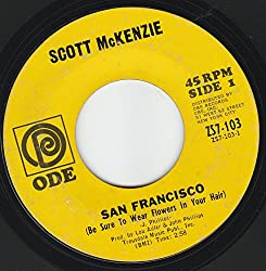 45vinylrecord San Francisco (Be Sure To Wear Flowers In Your Hair)/What's The Difference (7