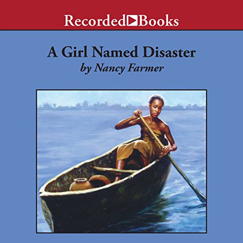 A Girl Named Disaster audiobook cover art