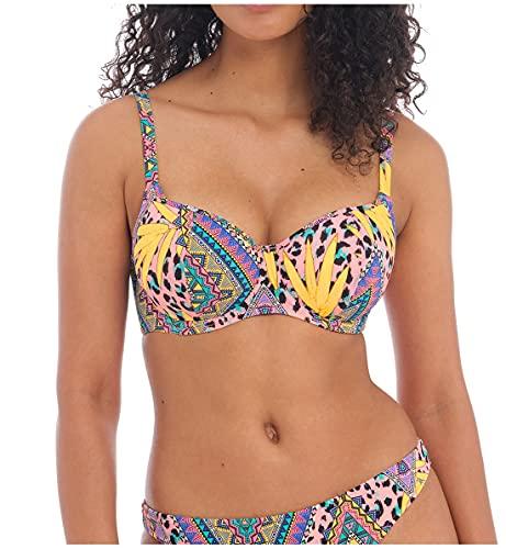 Freya Women's Cala Fiesta Underwire Sweetheart Bikini Swim Top AS0903 30HH Multi