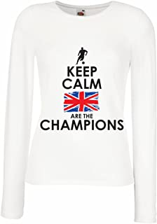 N4507M Female Long Sleeves T-Shirt North Irish are The Champions !