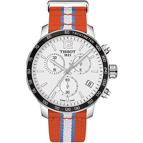 Tissot Herren-Uhren Analog Quarz One Size Textil 86963426