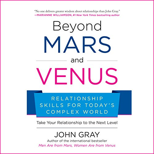 Beyond Mars and Venus audiobook cover art