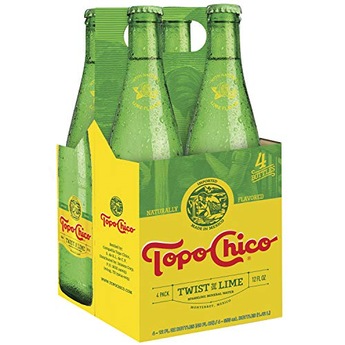 Topo Chico Sparkling Mineral Water, Twist of Lime