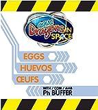 Aqua Dragons- Huevos Astro Pets, Multicolor