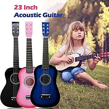 Ts-Ideen 5257 - Guitarra acústica infantil (talla 1/2 para 6-9 ...
